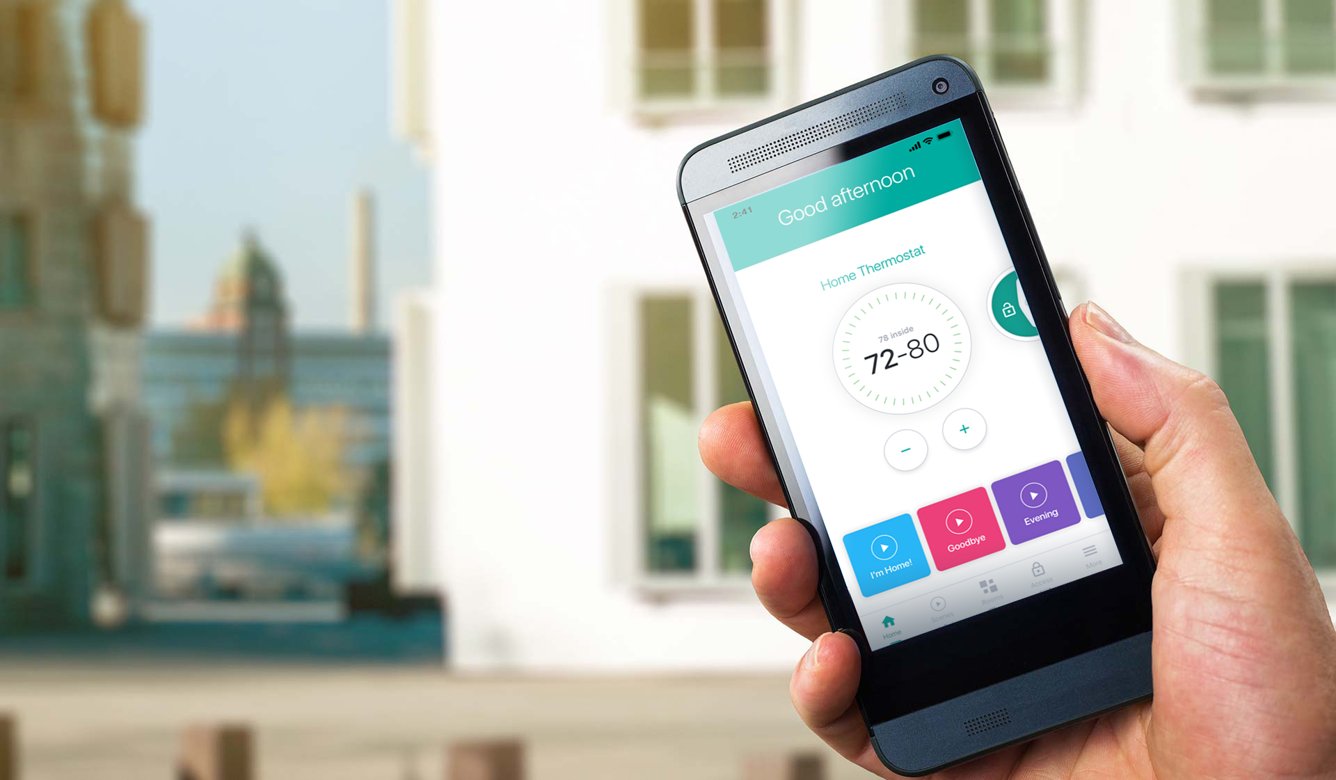 The Left Bank apartments - Smart Home Technology