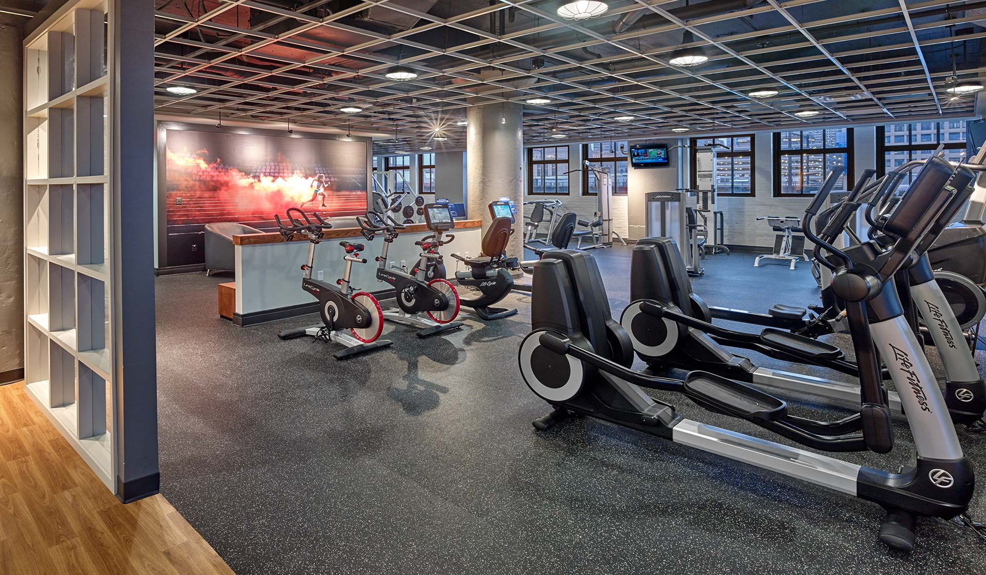 The Left Bank  apartments in Philadelphia - Fitness Center