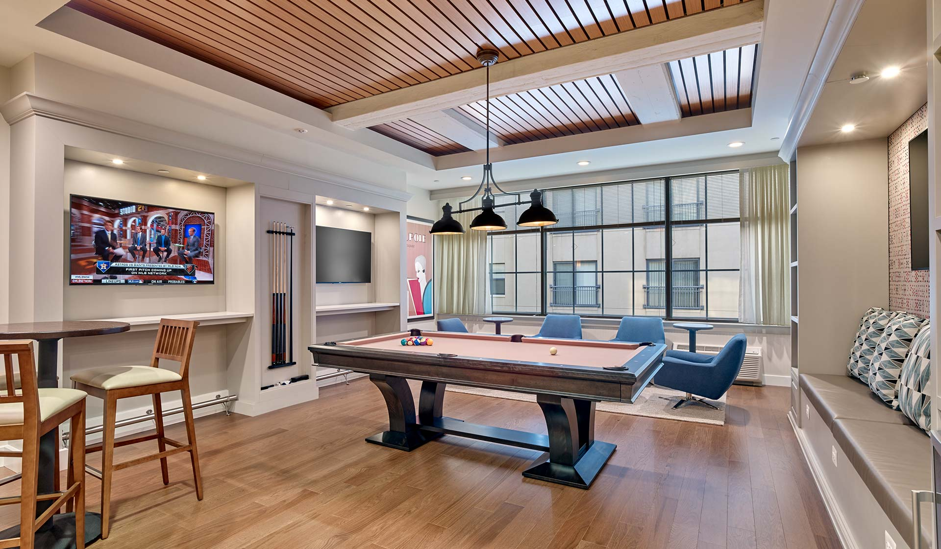 The Left Bank  apartments in Philadelphia - Game room